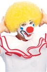 Yellow Clown Adult Wig