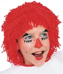 Red Rag Doll Wig - Boy