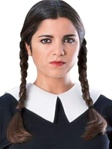 The Addams Family - Adult Wednesday Wig
