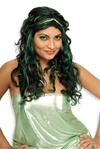 Long Adult Green Wig