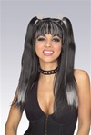 Gothic Cheerleader Wig - Adult