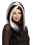 Gothic Miss Sinister Adult Wig
