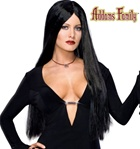 Deluxe Morticia Adult Wig