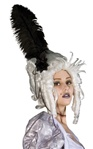 Ghostly Marie Antoinette Adult Wig