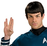Spock Star Trek Movie Wig