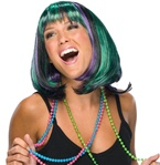 Mardi Gras Adult Sized Wig