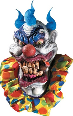 Boozer the Clown Mask - Adult