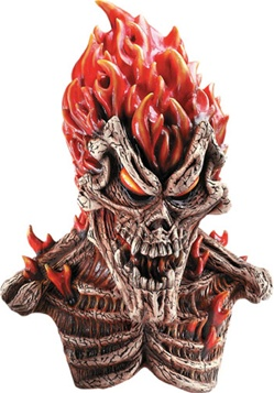 Inferno Skull Mask - Adult
