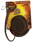 Indiana Jones Hat and Whip - Adult