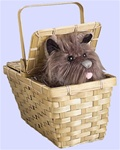 Wizard of Oz - Deluxe Toto in a Basket
