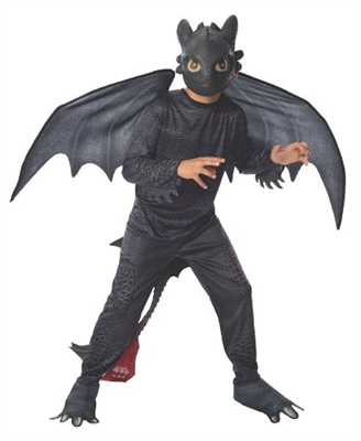 Boys Toothless How to Train Your Dragon Costume