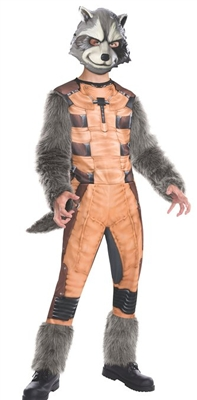 Boy's Guardians of the Galaxy Rocket Raccoon Costume