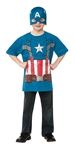 Boys Captain America Tee