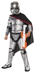 Kids Deluxe Captain Phasma Costume