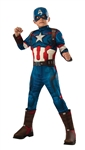 Child Avengers Retro Captain America Costume