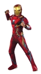Deluxe Child Iron Man Costume