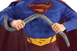 Bendable Steel Bar - Superman Accessory