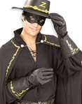 Adult - Zorro Gloves