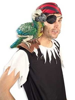 Pirate Parrot Shoulder - Prop
