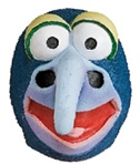 Adult Gonzo Muppet Mask