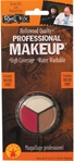 Accessory - White, Flesh and Red Makeup Kit