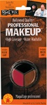Black, Red, Brown Make-up Kit Accessory