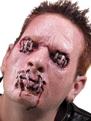 Stitched Eyes And Mouth Kit