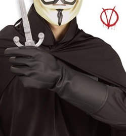 Adult V for Vendetta Gloves