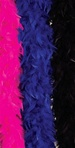 Blue Feather Boa Accessory