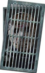 Jason Voorhees Floor Grate Cling - Friday the 13th