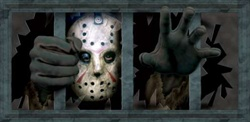 Jason Voorhees Wall Decal - Friday the 13th