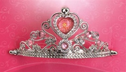 Lite-Up Pink Princess Tiara - Kids