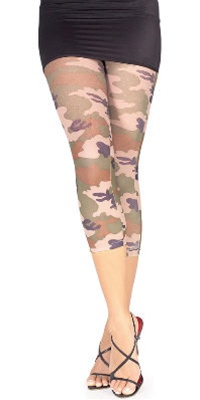 Accessory - Camo Print Leggings