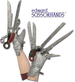 Edward Scissorhands Gloves - Accessory