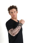 Tribal Tattoo Adult Half Sleeve - Tribal Charms
