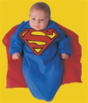 Baby Bunting Superman Costume - DC Comics