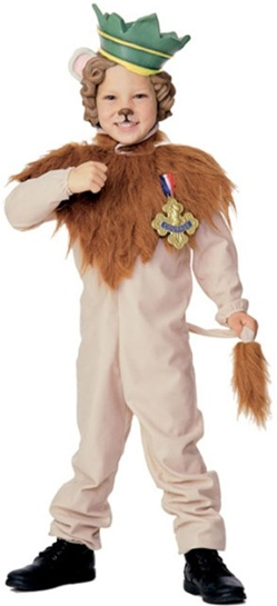 Wizard of Oz - Lil Cowardly Lion Costume