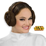 Star Wars - Princess Leia Headband with Hair Buns