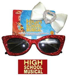 High School Musical - Gabriella Sunglasses & Hair Clip Set