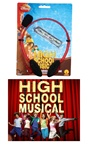 High School Musical - Gabriella Costume Head Mic and Glitter