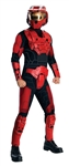 Deluxe Red Spartan Costume