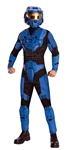 Deluxe Blue Spartan Costume