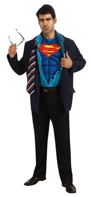 Clark Kent Superman Reveal Costume