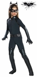 Girl's Deluxe Catwoman Costume for Halloween