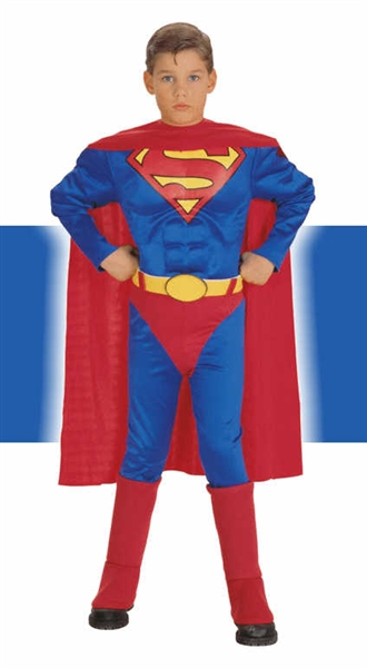 Deluxe Superman Child Costume