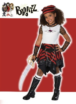 Child Bratz Pirate Costume