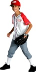 Officially Licensed High School Musical Wildcats Baseball Uniform Costume
