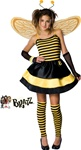 Girls Bratz Costume - The Braty Bee