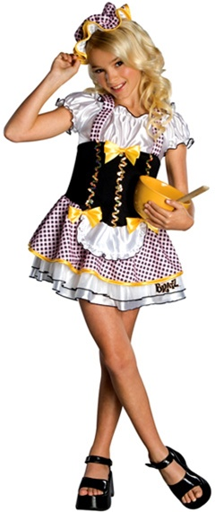 Bratz Bratty Goldilocks Kids Costume