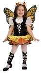 Girls' Butterfly Costume with Wings